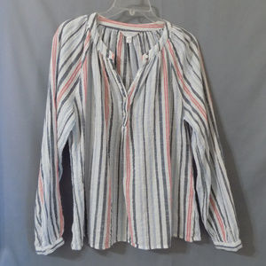 light weight striped longsleeve top